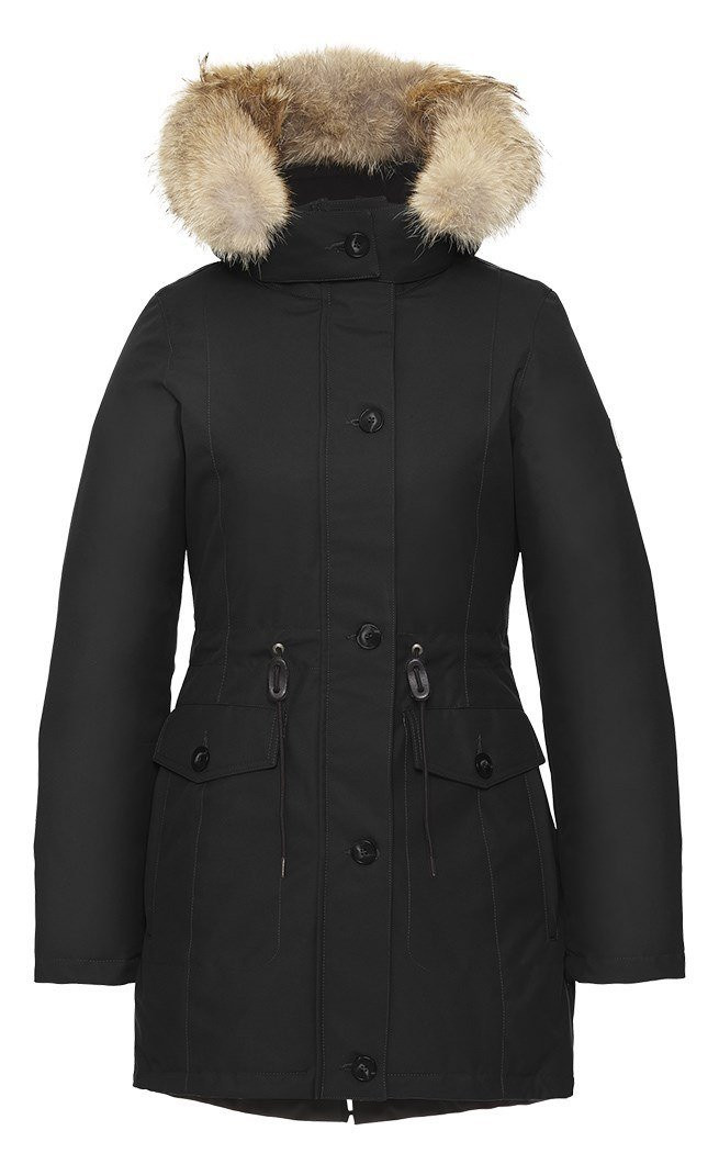 Quartz Laurentia Parka - Black