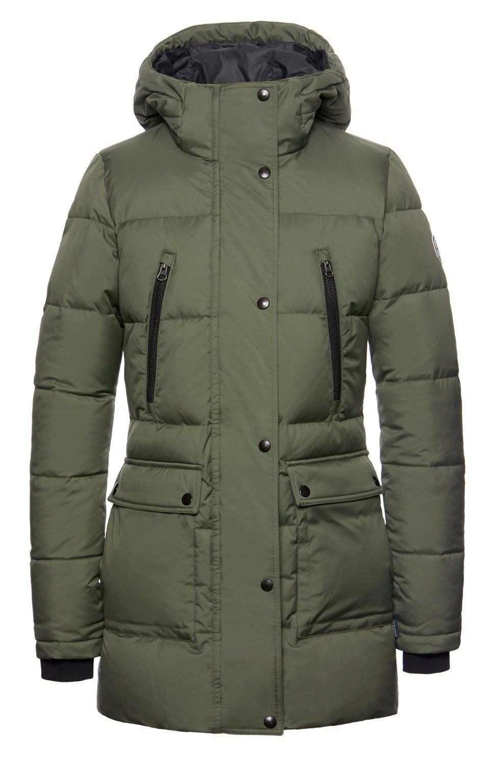 Salome Parka - Military Green
