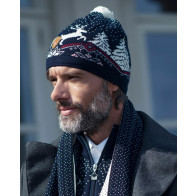 Dale Christmas Hat Navy