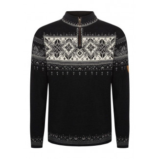Blyfjell Unisex Sweater - Black and White 1