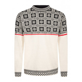 Tyssøy Unisex Sweater White 1