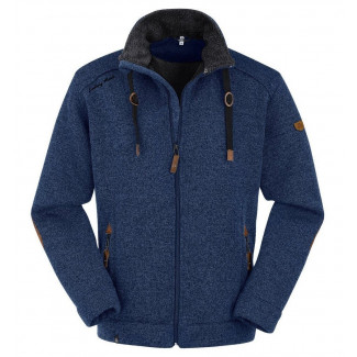 Herren Strick-Fleecejacke Lichtenau - Moonlight Blue