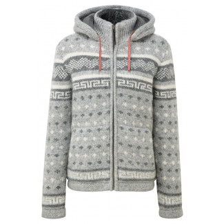 Tembo Full Zip Sweater - Darjeeling Mist