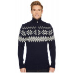 Myking Masculine Sweater - Navy / OIff-White / Light-Charcoal