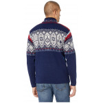 Norge Masculine Sweater - Navy