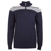 Cortina Merino Mens Sweater Navy
