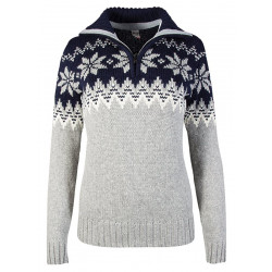 Myking Feminine Sweater Navy