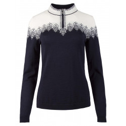 Snefrid Feminine Sweater Navy