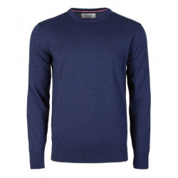 Magnus Masculine Sweater Navy
